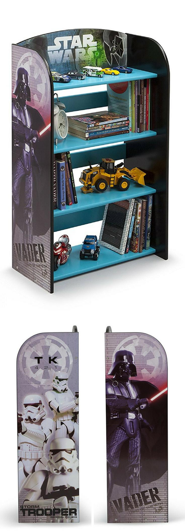 Star Wars Kinderzimmer Regal Spielzeugregal Yoda Stormtrooper