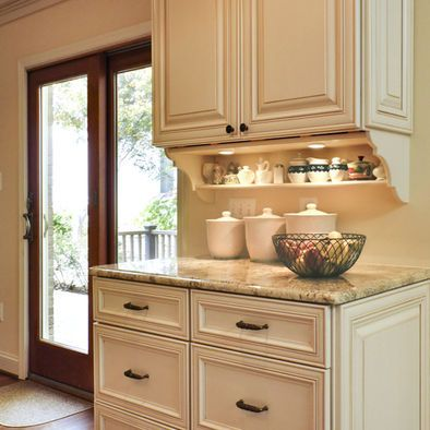 Shelf Under Upper Cabinets bracket corbel, could do this ...