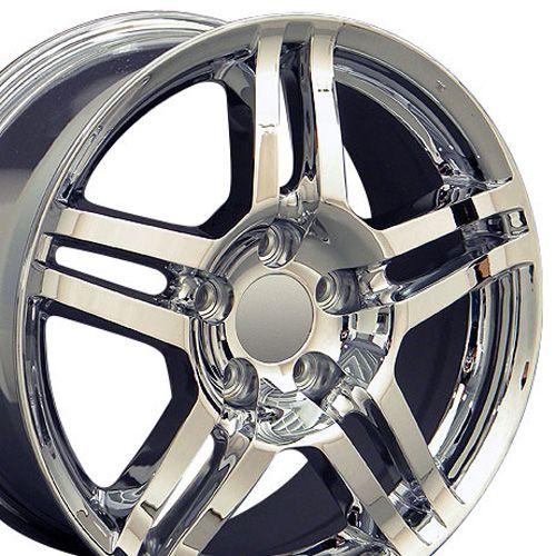 17 Inch Rim Fits Acura TL Style AC04 17x8 Chrome Wheel