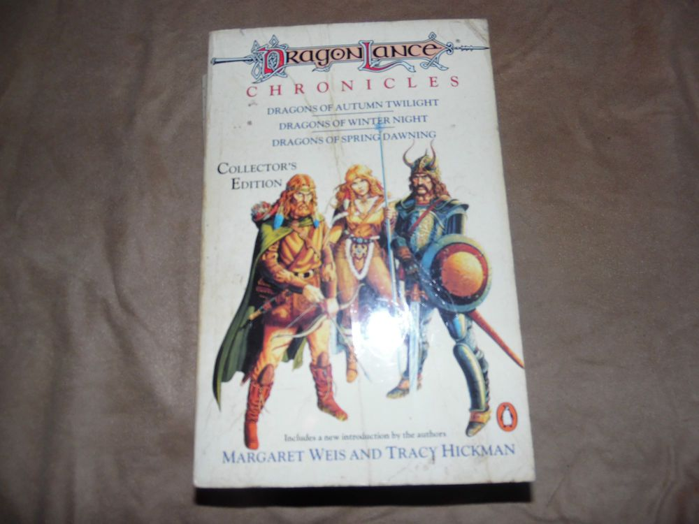 dragonlance chronicles collector s edition 3 books in one