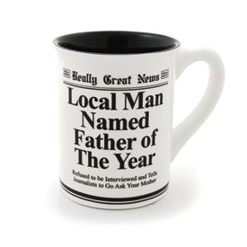 Really Great News Father of the Year Mug