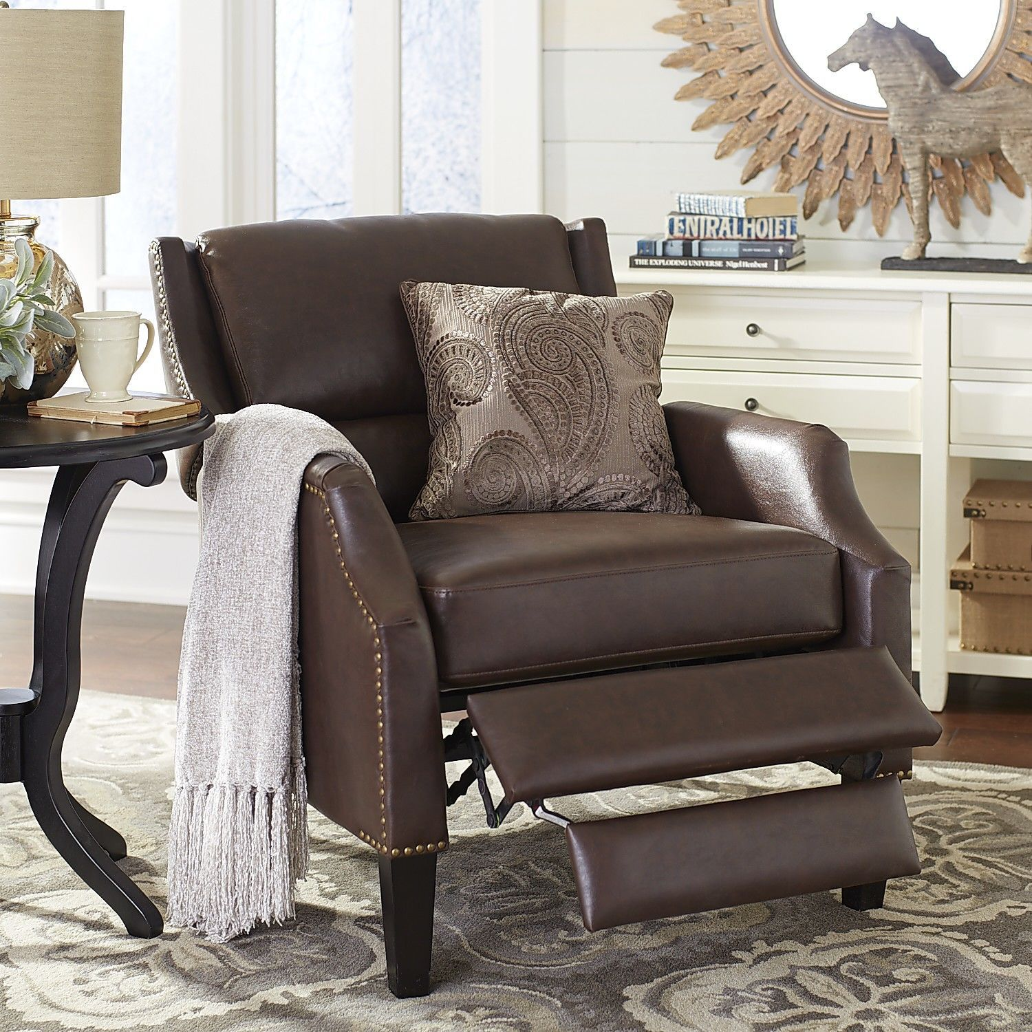Pier One Chairs Living Room 6795 Sale 799 Reg Liam Recliner Cocoa Pier 1 Imports