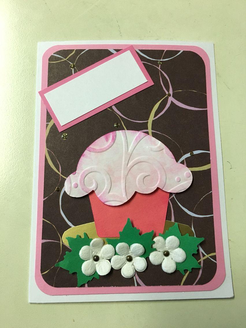 Cupcake Card - CARS 2/16