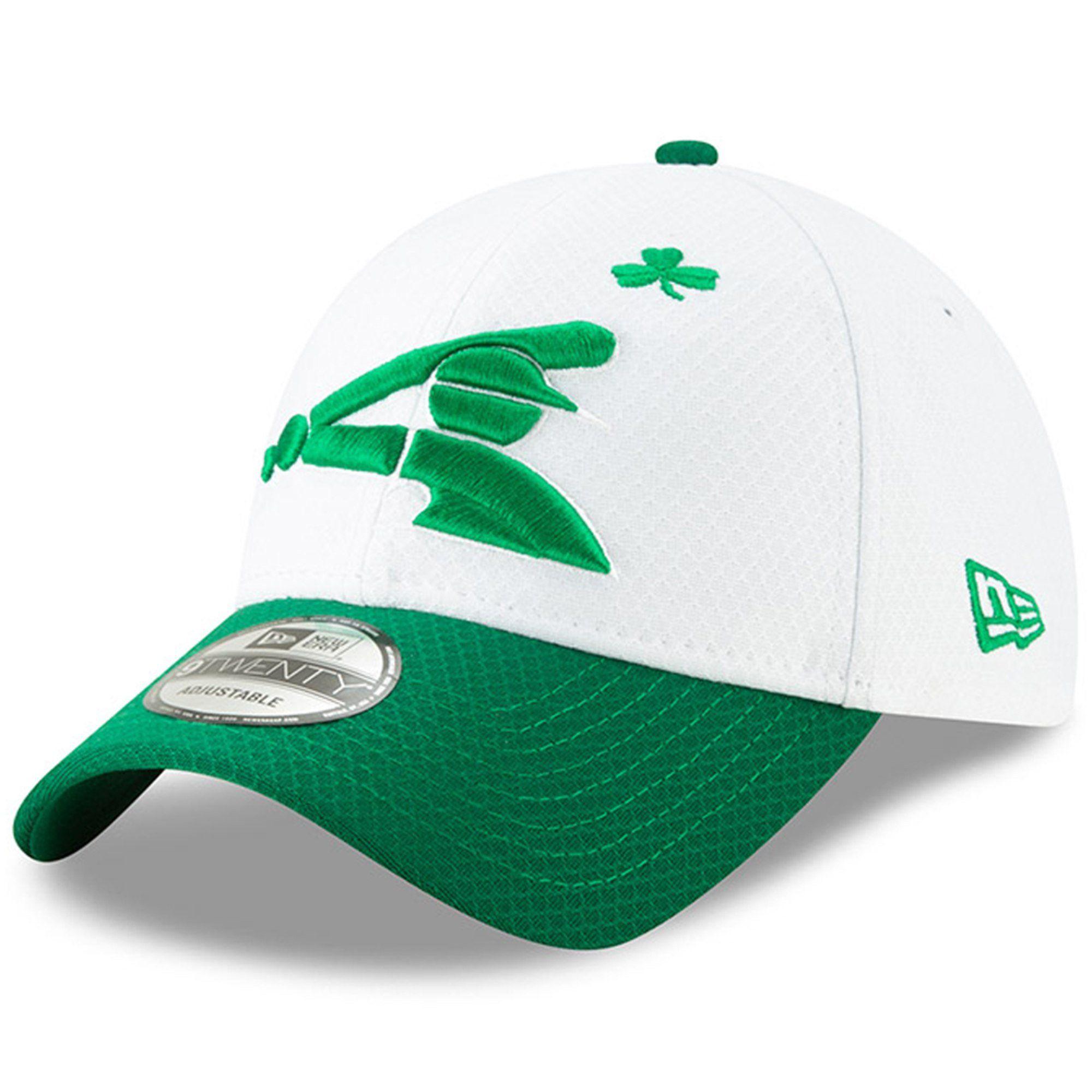 big sale f8be0 0a3df Men s Chicago White Sox New Era White Kelly Green 2019 St. Patrick s Day  9TWENTY Adjustable Hat