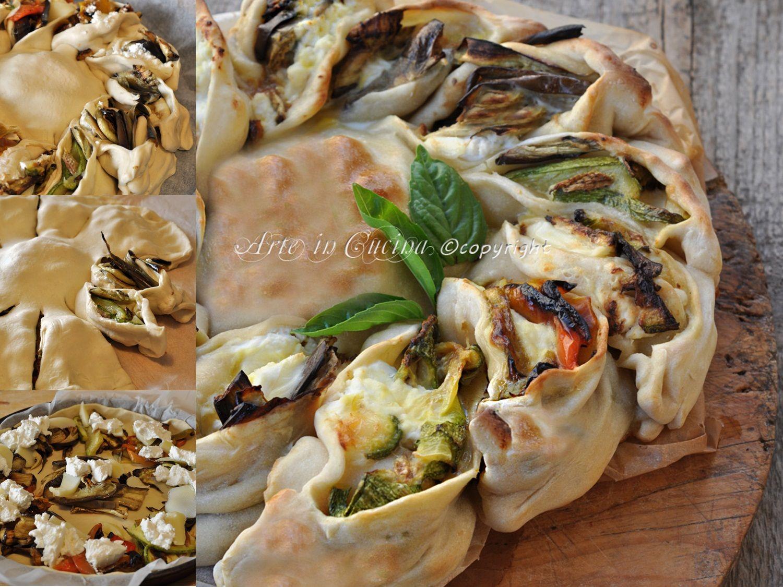 Torta girasole salata con verdure miste | Cucina, Pies and Food