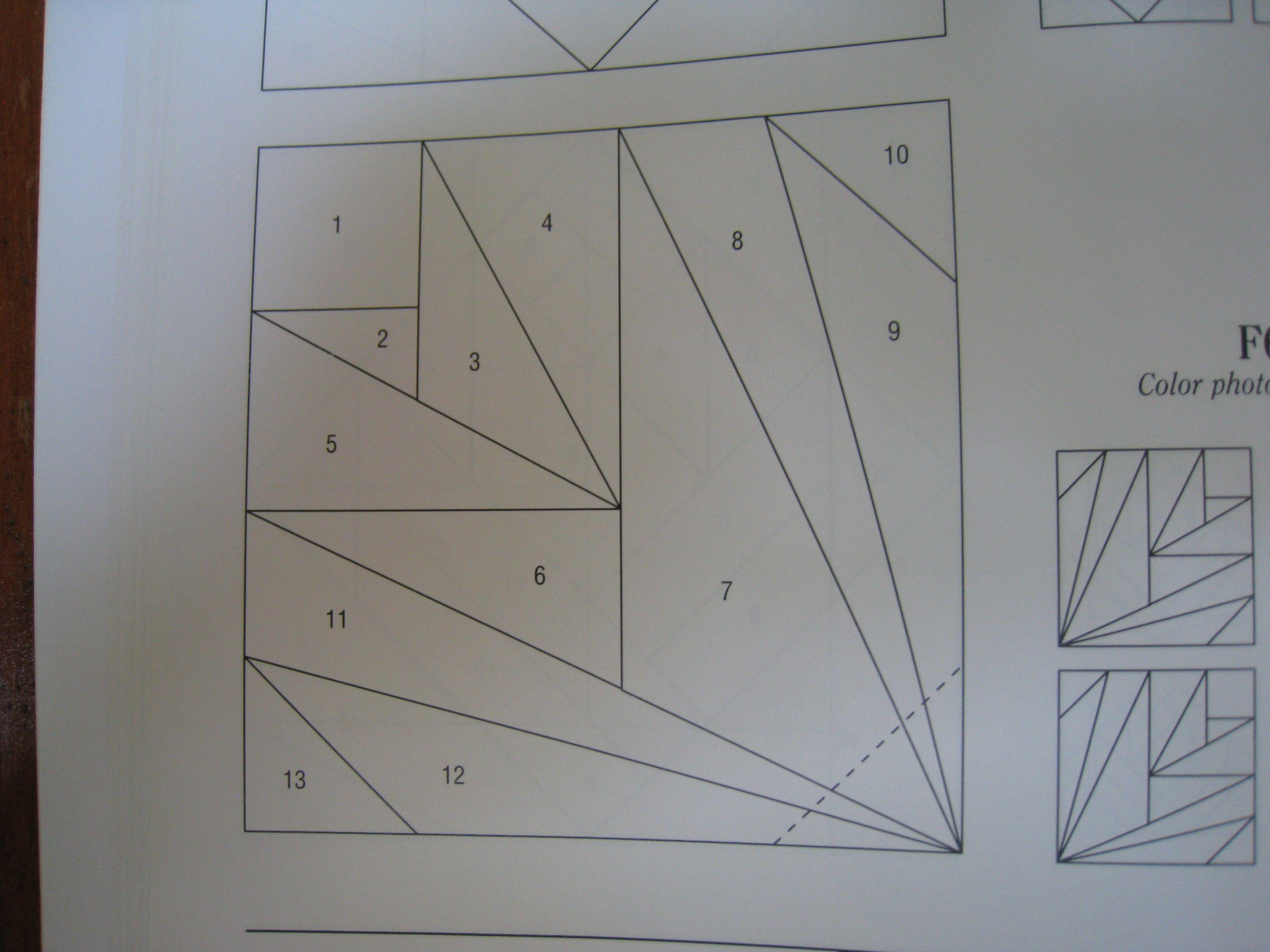 Paper piecing foundation piecing paper