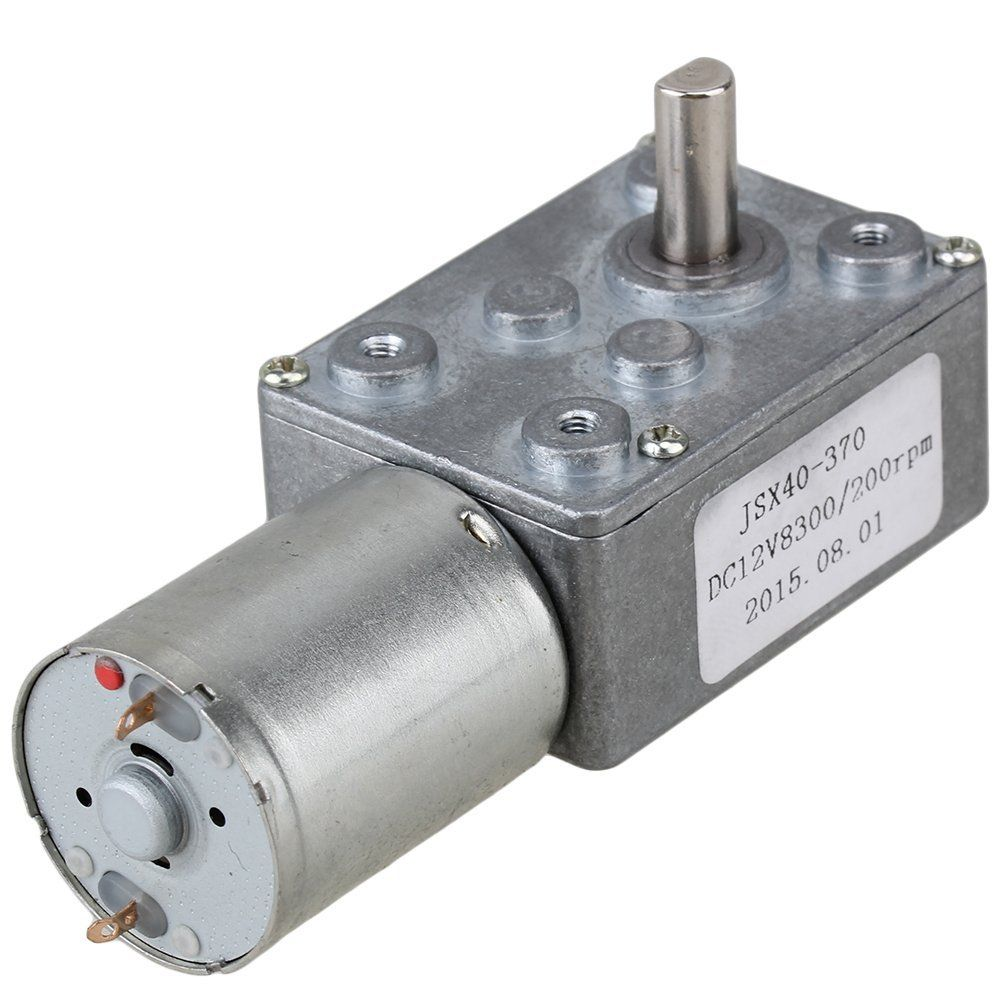 Dc 12v 200rpm Electric Power High Torque Turbo Reducer Motor Right Angle Gear Electric Power Electric Motor For Bicycle Electricity