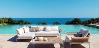 salon de jardin moderne –ethimo-meridien-canape-angle-table-basse ...