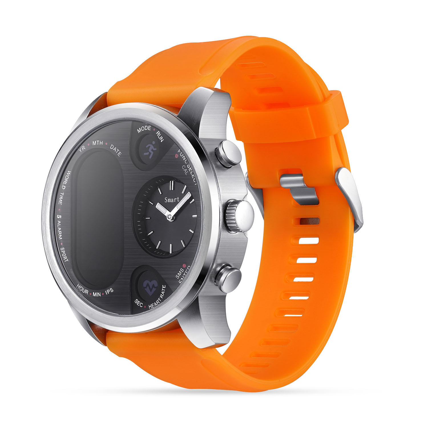 Bakeey T3 Dual Time Zone Heart Rate Multilanguage Reject