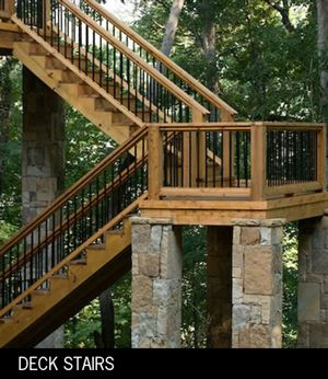 deck stairs design on deck design ideas outdoor stairs decking atlanta macon - Deck Stairs Design Ideas