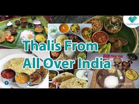 Thali From All Over India || Filmyship - YouTube