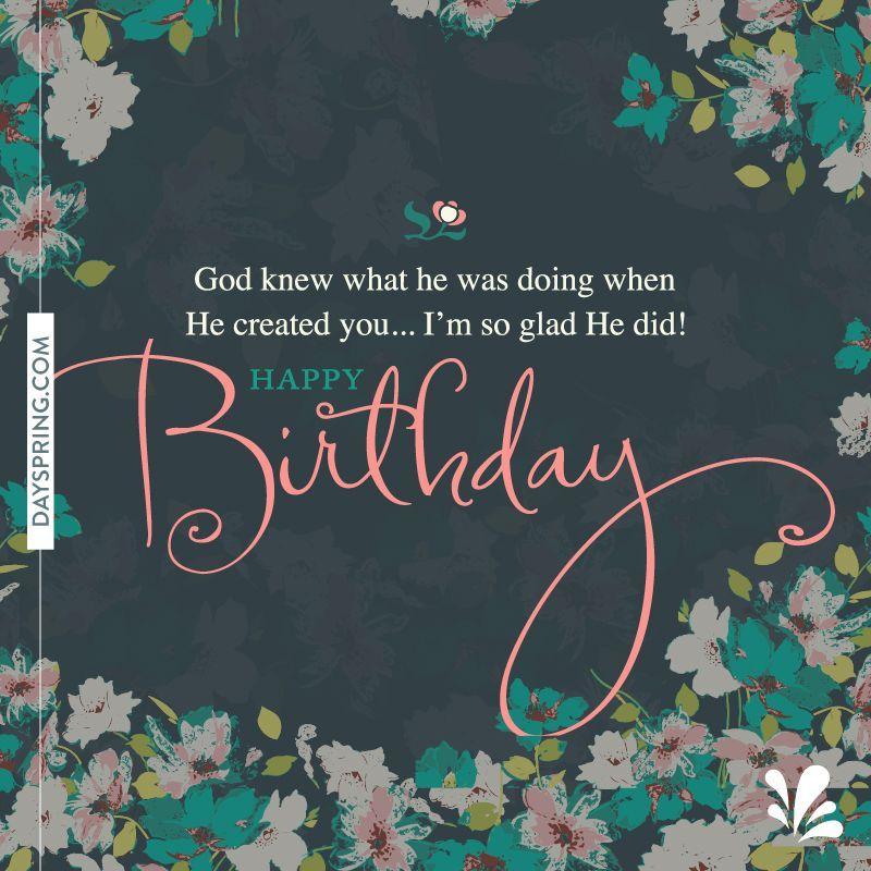 Ecards Happy birthday quotes, Birthday quotes, Christian
