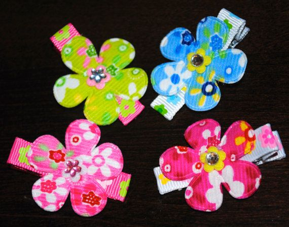 Hair Clips Made for Fine Hair  Set of Four by ImFineHairClipDesign, $9.99
