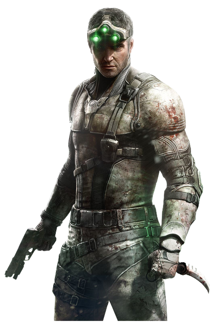 splinter cell blacklist sam fisher render by crussong on deviantart - Splinter Cell Halloween Costume