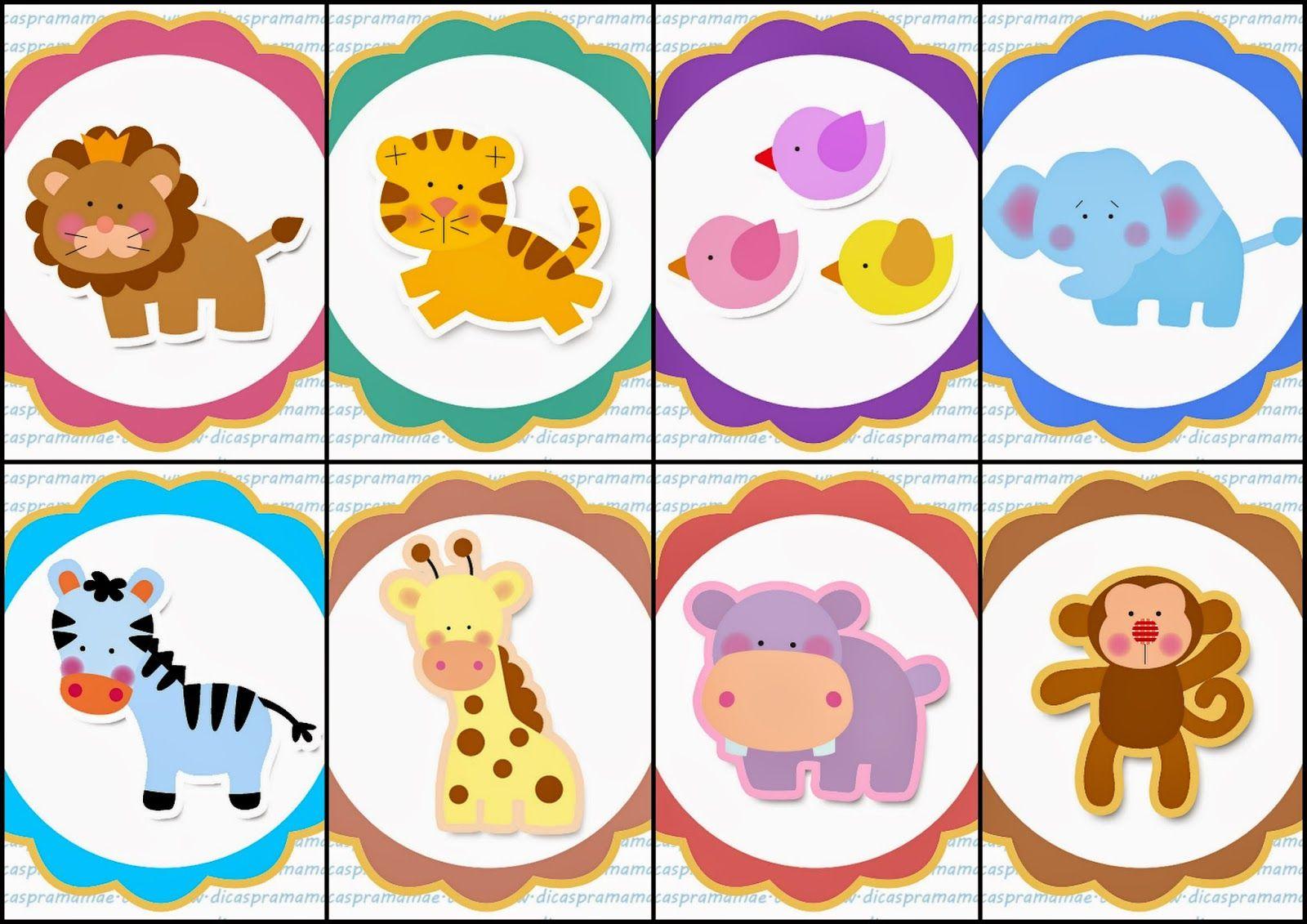 Jungle Free Printable Toppers Or Labels Safari Baby Animals Cupcake Toppers Printable Safari Cupcakes