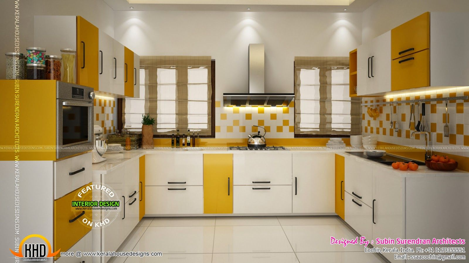 Kerala home design floor plans interior design cochin for Kitchen design kerala