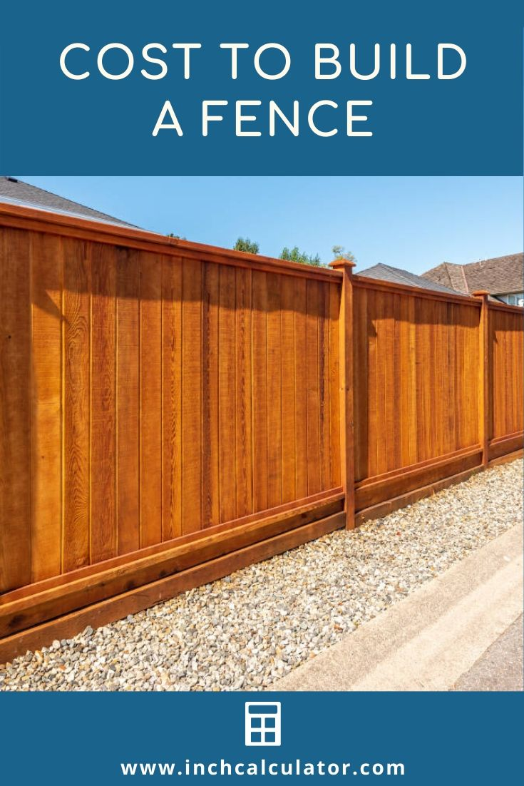 Cost To Install A Fence 2020 Average Prices Fence Design Building A Fence Fence Installation Cost
