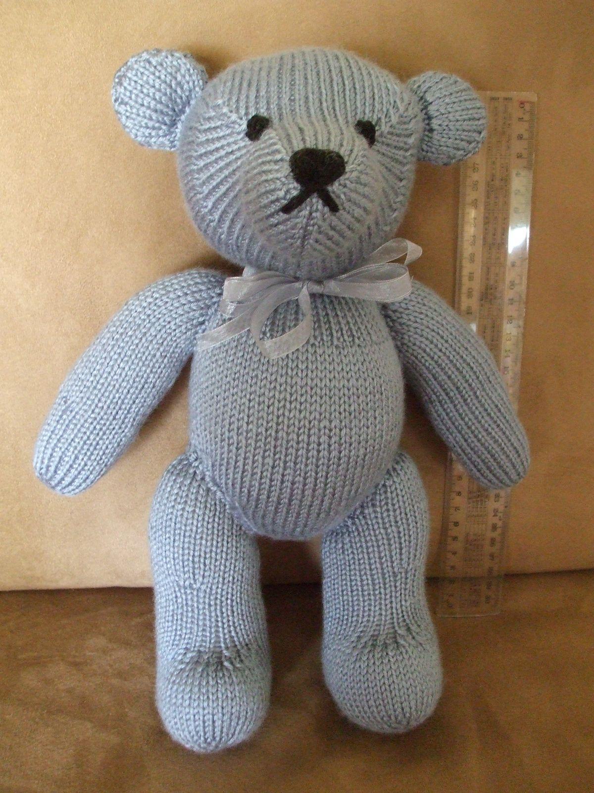 Ravelry: Heirloom Teddy pattern by Patons Australia free pattern knit Pin...