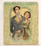 Pride n' Prejudice: Liz+Darcy by *flominowa on deviantART