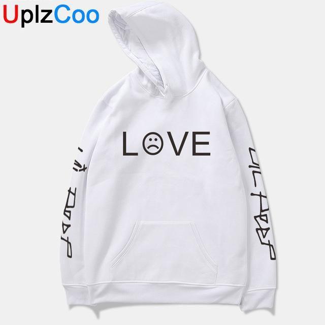 Li Peep Denim Jacket Jeans Love Printed Fashion Sport Hip Hop Hoodie