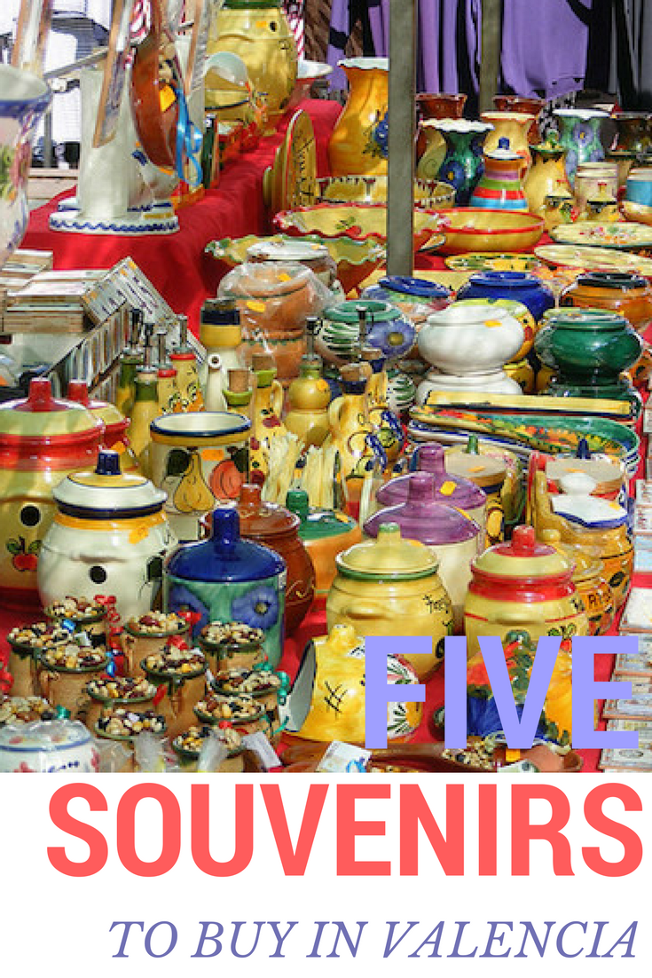 e3b97d5eb7 What souvenirs to buy in Valencia  Check out this post for great ideas
