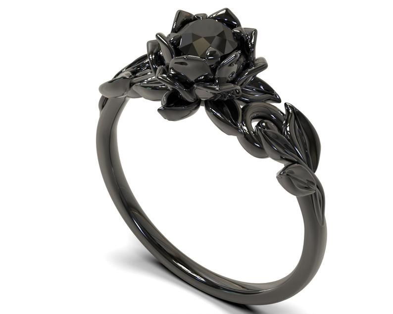 Pin By Lee Min On Accessories Black Gold Ring