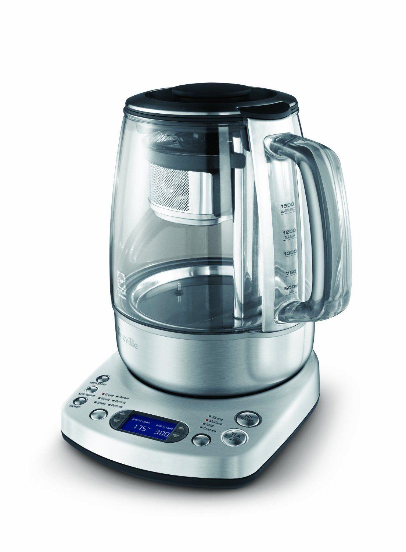 Amazon Com Breville Btm800xl One Touch Tea Maker Home Kitchen