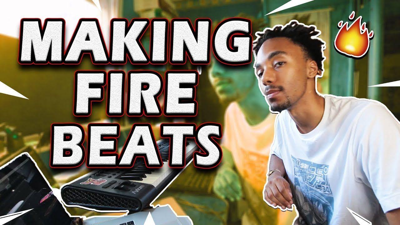 PRODUCER MAKING BEATS IN FL STUDIO Rap beats, Beats, Studio