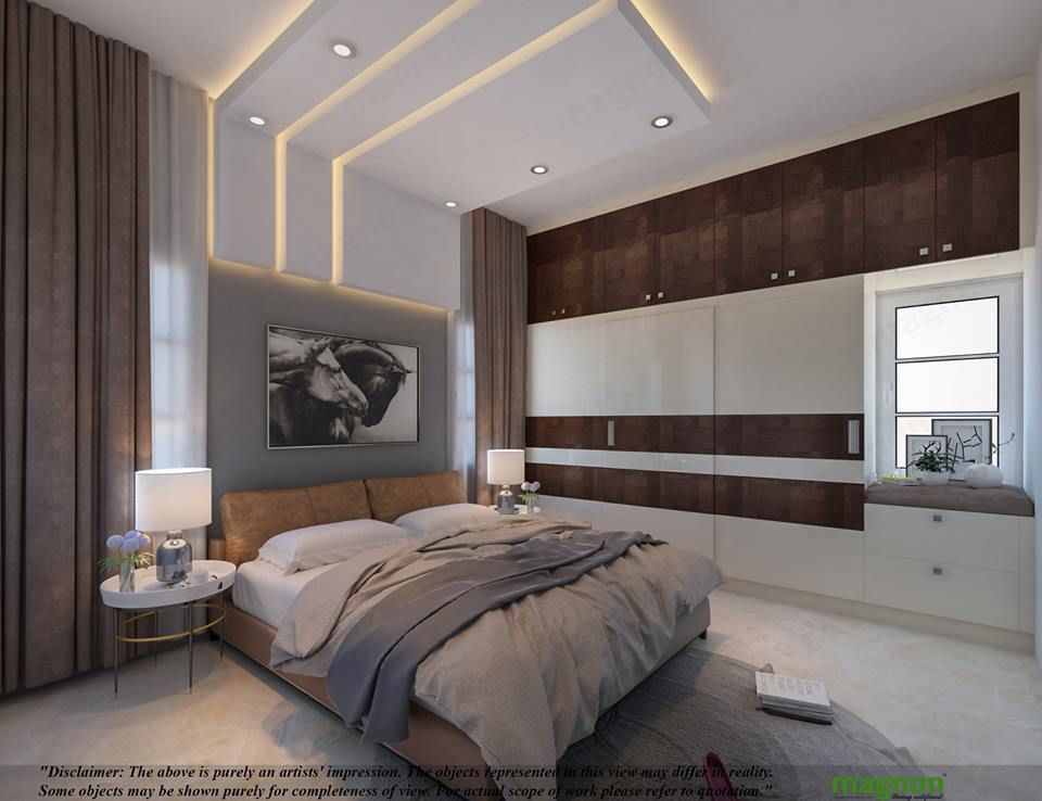 Best Interior Designers In Bangalore In 2020 Bedroom False 400 x 300