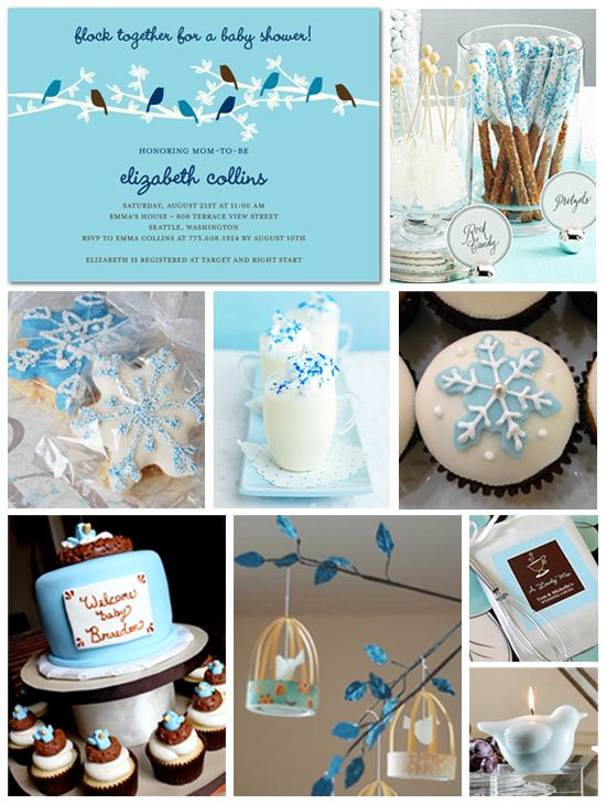 Winter Baby Shower Inspiration Board Tinyprints Blog Baby