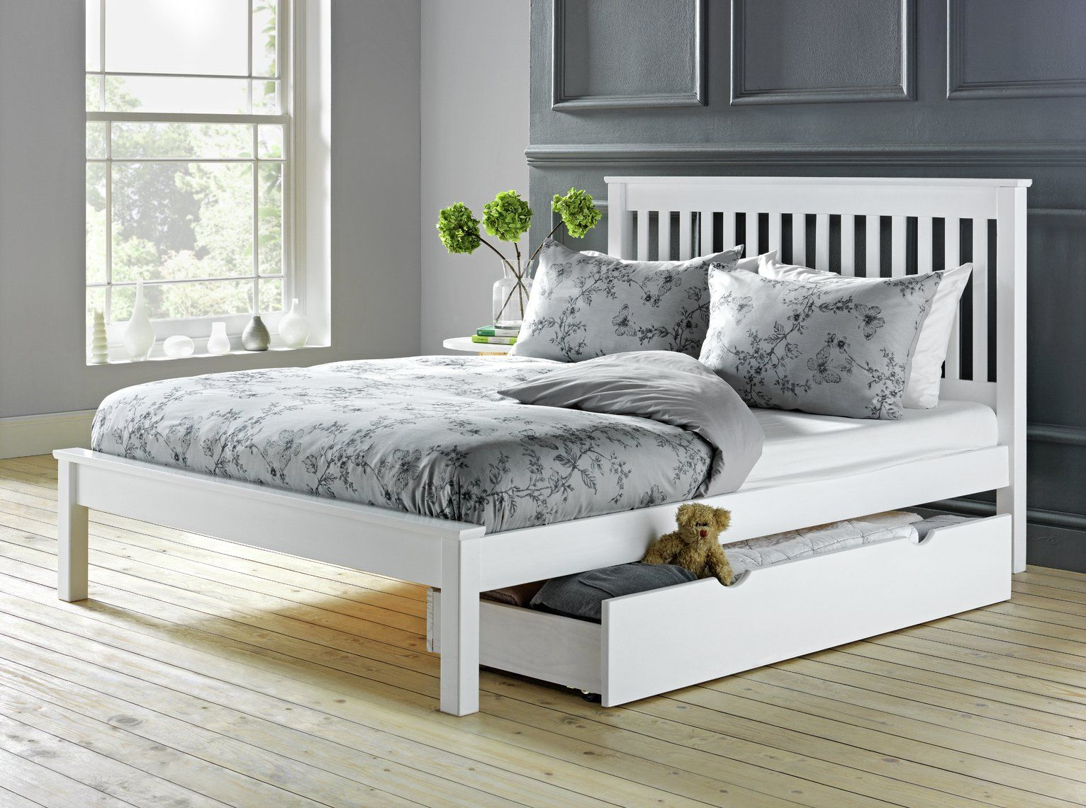 Argos Home Aspley Small Double Bed Frame White In 2020 Small
