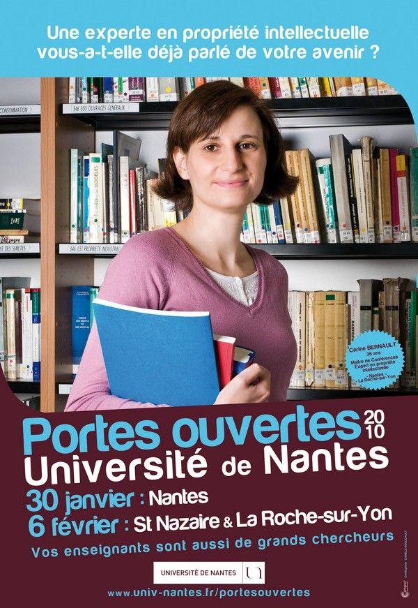Carine bernault universit de nantes portes ouvertes - Portes ouvertes universite angers ...