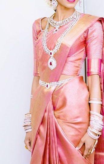 Photo of 25+ Pink Wedding Saree Ideas & Inspirations • Keep Me Stylish