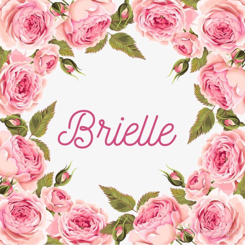 Baby girl name Brielle   Girl names, Cute baby names, Baby ...