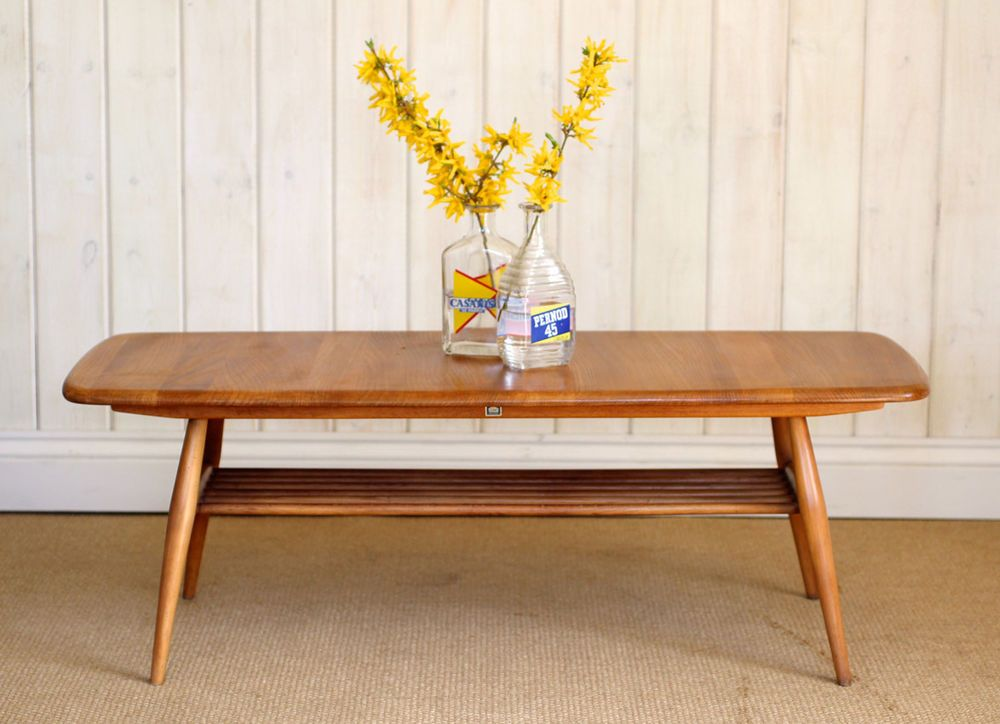Vintage Retro Ercol Coffee Table Mid Century Great Condition
