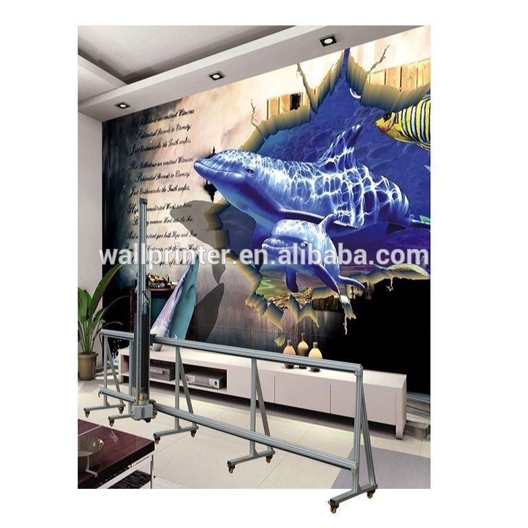 3d Picture Printing Vertical Wall Printer Direct To Wall Painting