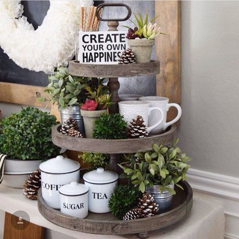 Creative Three Tier Stand Collections To Beautify Your Home Decor   DecOMG