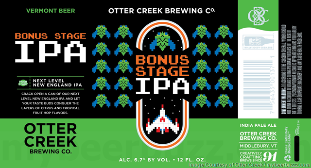 This Morning We Have Three New Ipa Cans Coming From Otter Creek Brewing In Middlebury Vt Bonus Stage Ipa Next Level New Engla Otter Creek Ipa Brewing Co