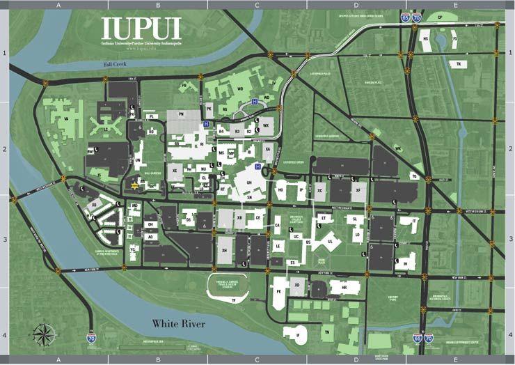 Indiana Campus Map.Campus Map Campus Maps Way Finding Pinterest Campus Map Map