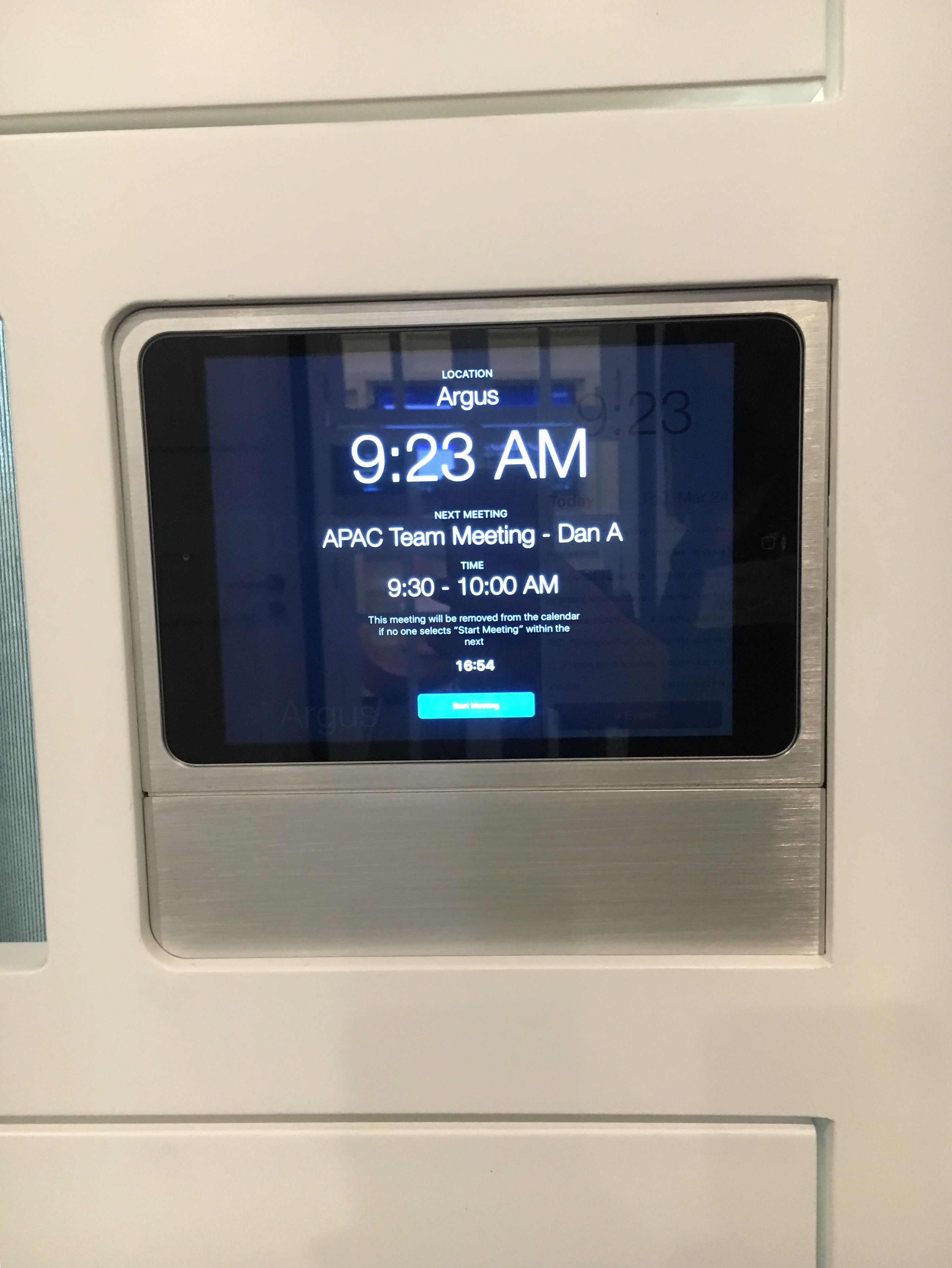 Meeting room booking system   Office Space   Pinterest   Meeting ...