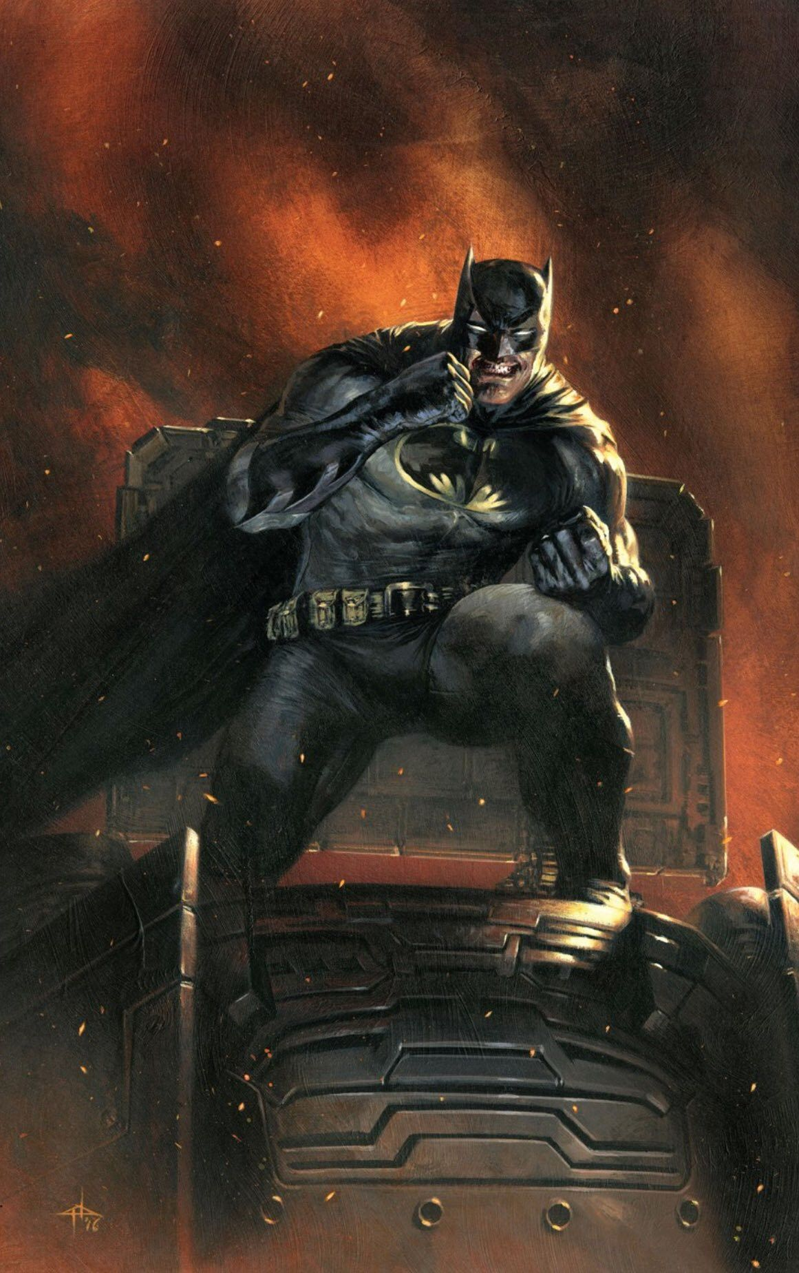 The Dark Knight Returns Art By Gabriele Dell Otto Batman The