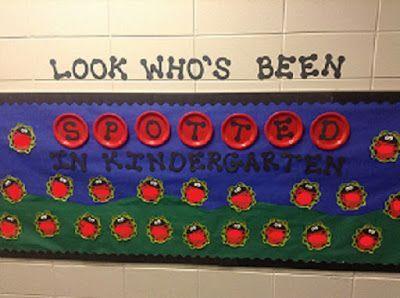 Ladybug Classroom Decoration Ideas : Dr clements kindergarten ladybug classroom door and bulletin
