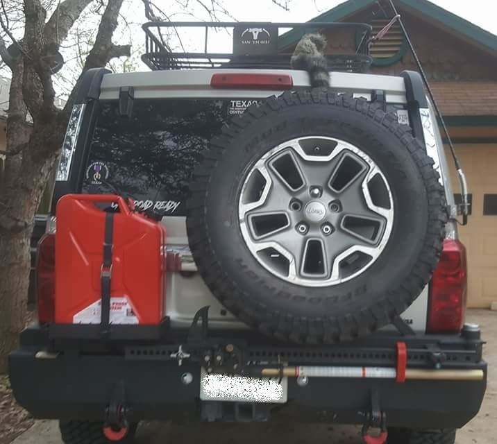 2006 2010 Jeep Commander Rear Wam Bumper Compatible With Back Up