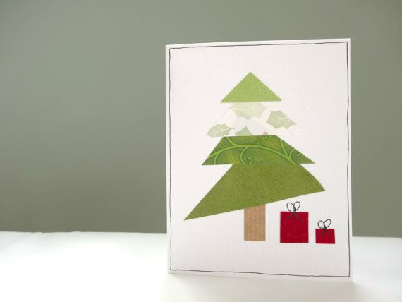 Mini+Christmas+card+set++10+handmade+cards+with+by+FluffyDuck,+£12.50