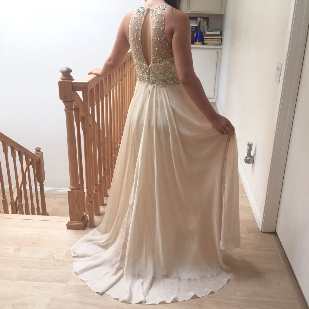 Gold champagne prom dress gold champagne and products