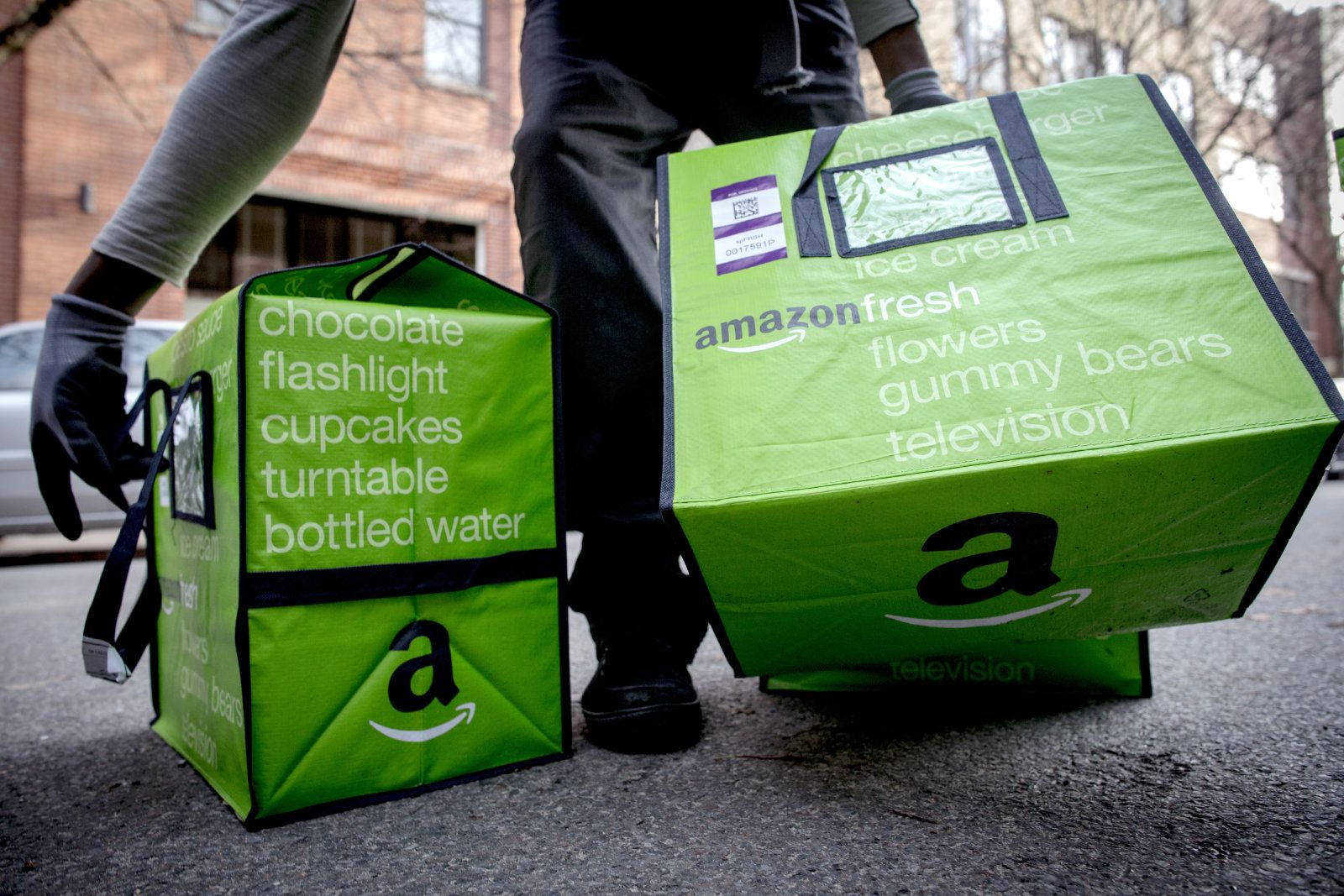 Amazon S Grocery Deliveries Now Cover 190 London Postcodes Uk Supermarkets Amazon Grocery Grocery Services