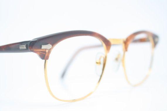 Tortoise Browline Eye Glasses Malcolm X Vintage Frames | 20 / 20 ...