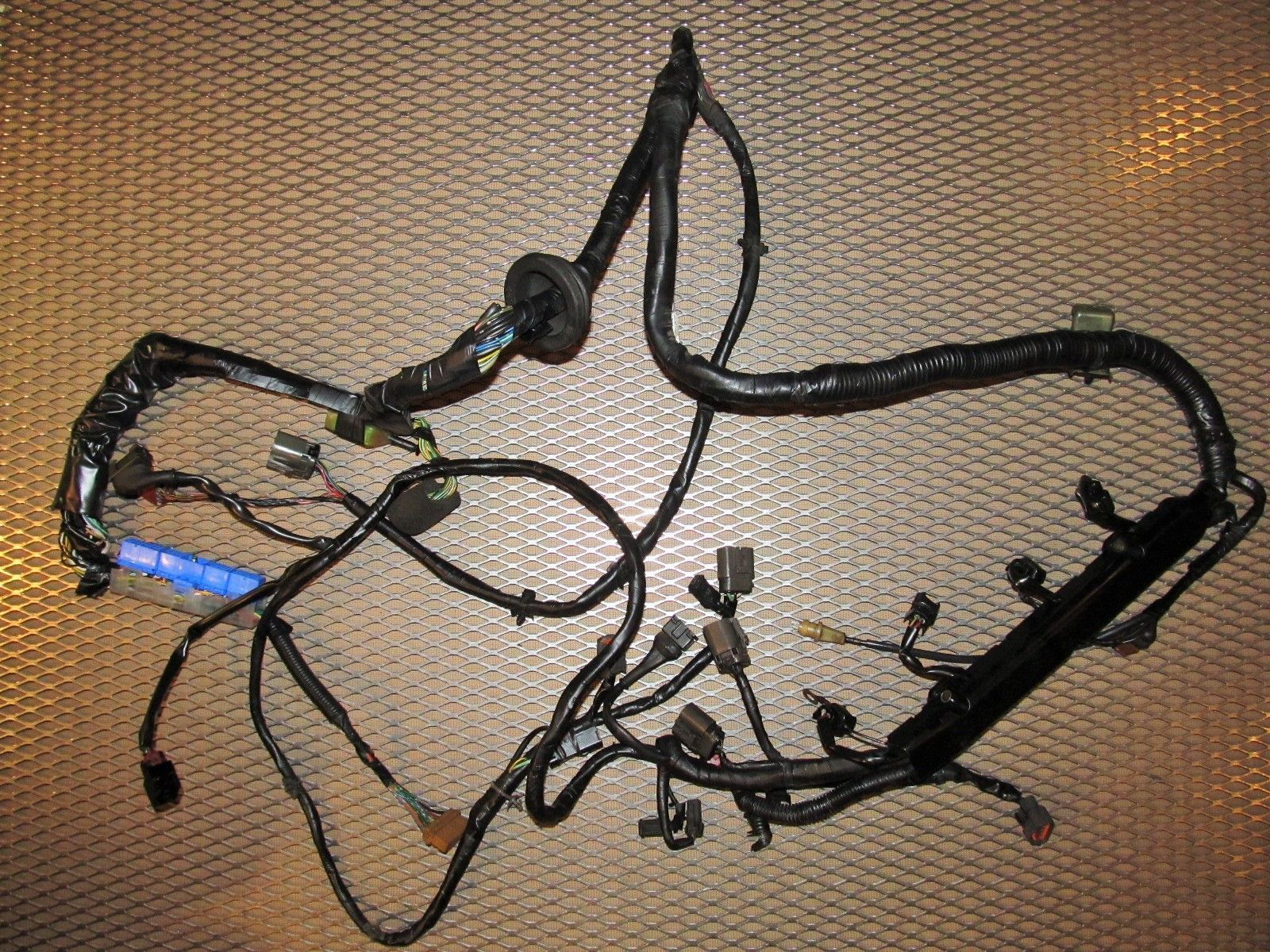 91 92 93 94 nissan 240sx oem engine wiring harness ka24de a t [ 1600 x 1200 Pixel ]