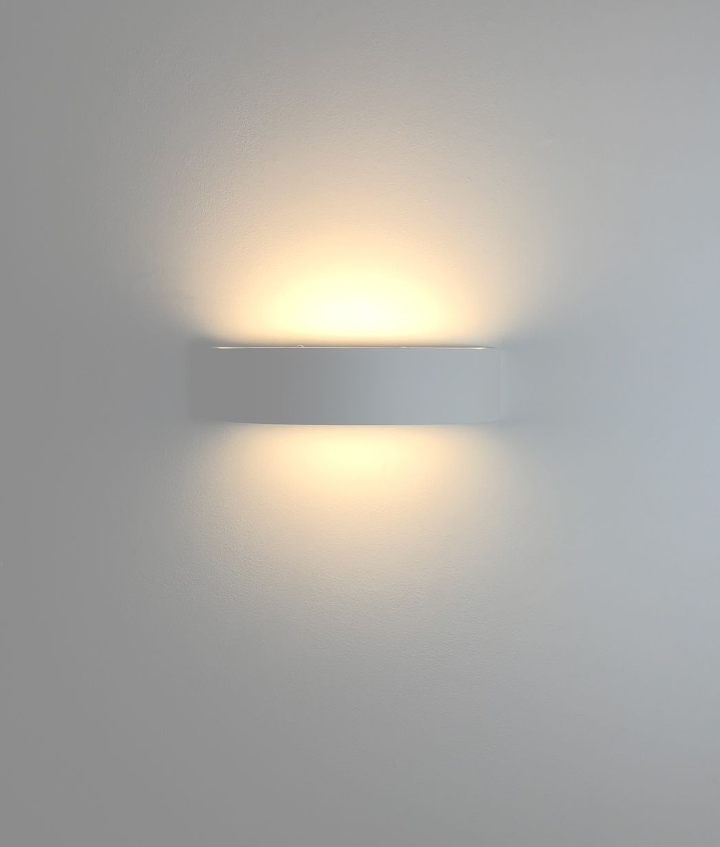Led Plaster Wall Washing Semicircular Wall Light With Diffusers Arquitetura Design Urbanismo