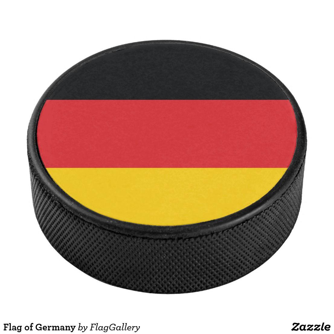 Flag of germany hockey puck germany flag